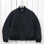 ENGINEERED GARMENTS『Aviator Jacket-Cotton Double Cloth』(Black)