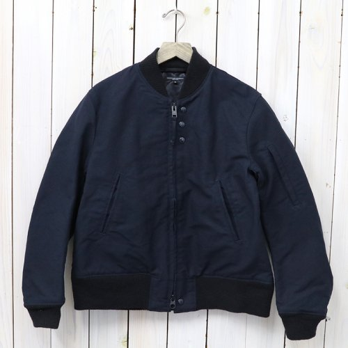 『Aviator Jacket-Cotton Double Cloth』(Dk.Navy)