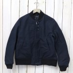 ENGINEERED GARMENTS『Aviator Jacket-Cotton Double Cloth』(Dk.Navy)