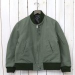ENGINEERED GARMENTS『Aviator Jacket-Cotton Double Cloth』(Olive)