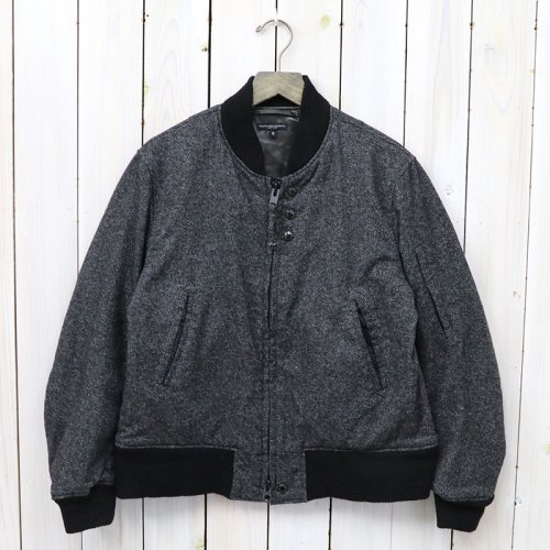 『Aviator Jacket-Wool Homespun』(Charcoal)