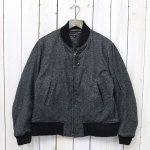 【会員様限定SALE】ENGINEERED GARMENTS『Aviator Jacket-Wool Homespun』(Charcoal)