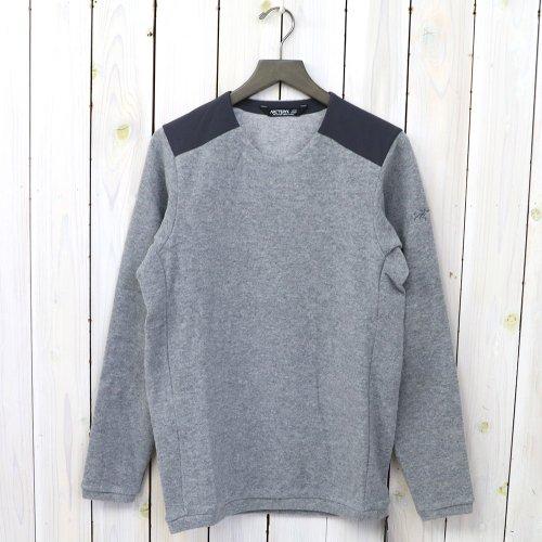 『Donavan Crew Neck Sweater』(Light Grey Heather)