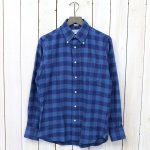 INDIVIDUALIZED SHIRTS『BUFFALO CHECK』(NAVY/BLUE)