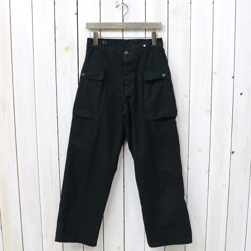 『2POCKET CARGO PANTS』(BLACK)