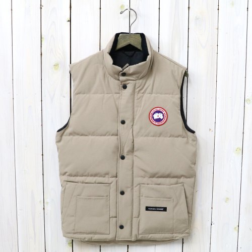 『FREESTYLE CREW VEST』(TAN)