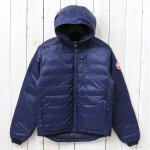 CANADA GOOSE『LODGE DOWN HOODY』(ADMIRAL BLUE)