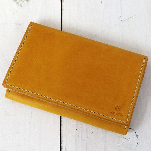MOTO『CA4 カードケース』(Yellow)