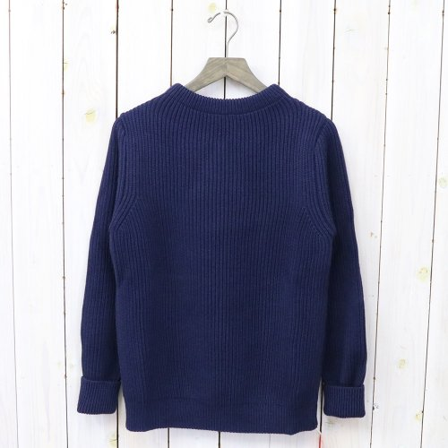 『THE NAVY-CREW NECK』(Royal Blue)