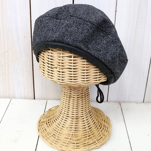 『Beret-Wool Homespun』