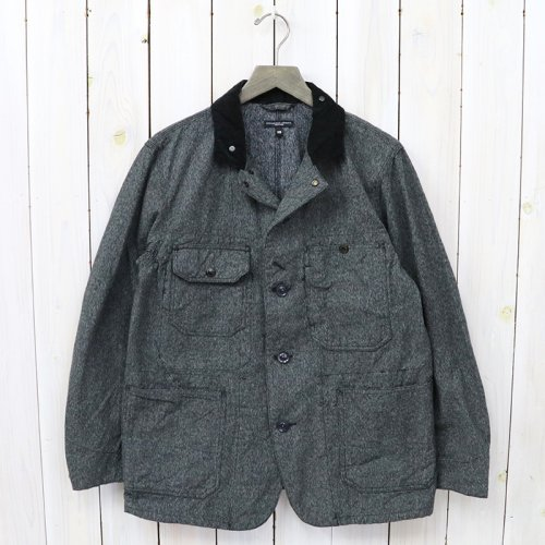 『Coverall Jacket-Salt and Pepper Twill』