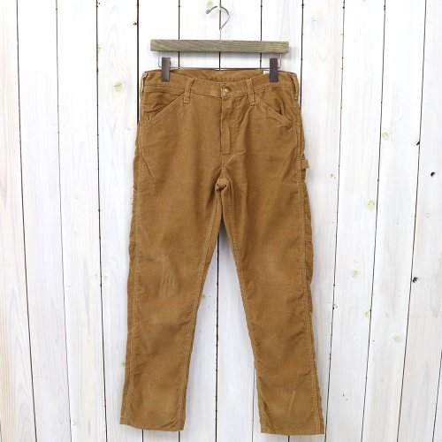 『SLIM FIT PAINTER PANTS(CORDUROY)』(BROWN)