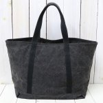 ARTS & CRAFTS『#9 CANVAS-BASIC TOTE』(BLACK)