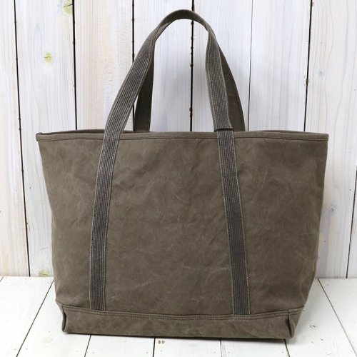 『#9 CANVAS-BASIC TOTE』(OLIVE)