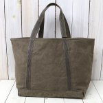 ARTS & CRAFTS『#9 CANVAS-BASIC TOTE』(OLIVE)