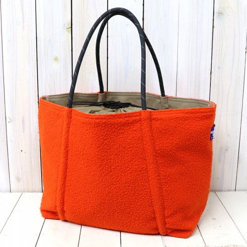 『Melton Rope Tote』(Orange)