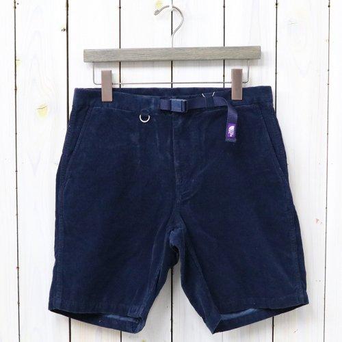 『Corduroy Shorts』(Navy)