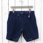 THE NORTH FACE PURPLE LABEL『Corduroy Shorts』(Navy)