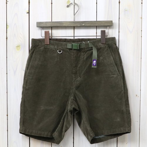 『Corduroy Shorts』(Brown)