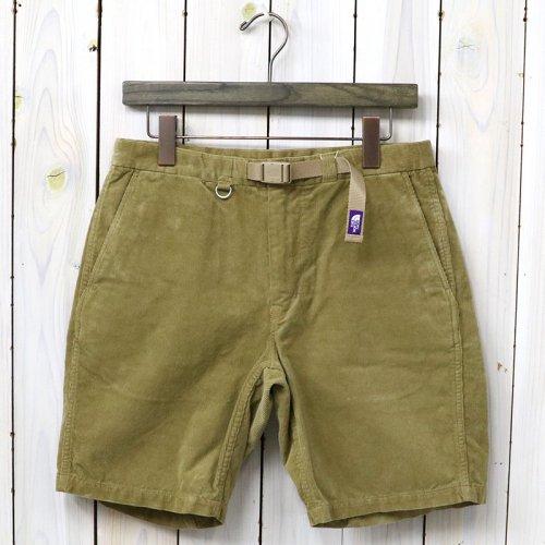 『Corduroy Shorts』(Beige)