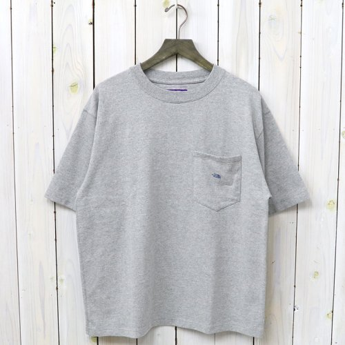 『8oz H/S Big Tee』(Mix Gray)