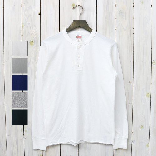 HEALTHKNIT『HENLEY LONG SLEEVE』