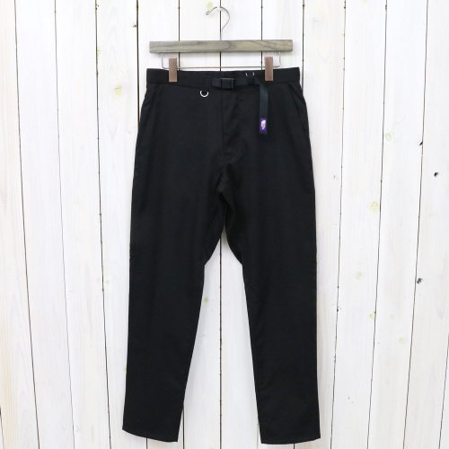 THE NORTH FACE PURPLE LABEL『Double Face Chino Tapered Pants』(Black)