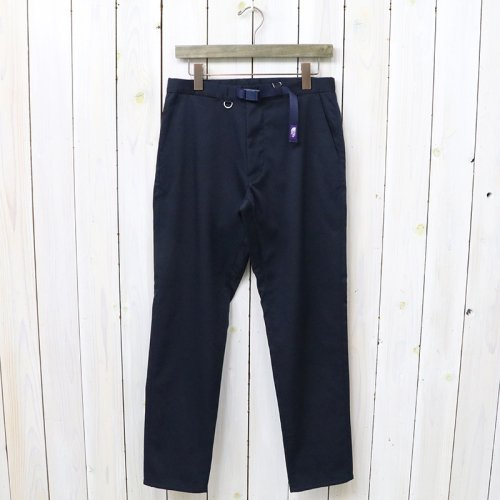 『Double Face Chino Tapered Pants』(Navy)
