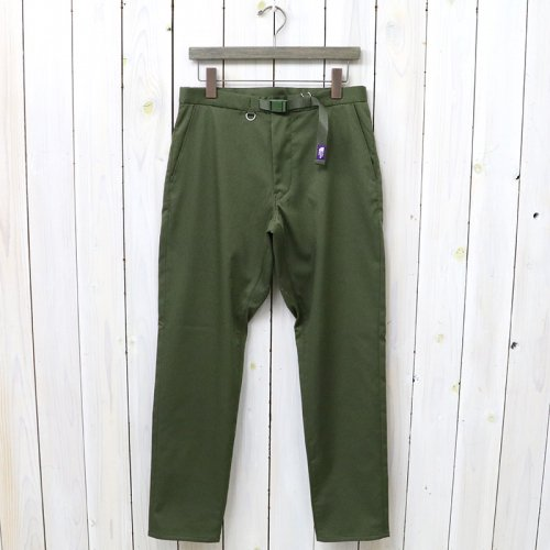 『Double Face Chino Tapered Pants』(Khaki)