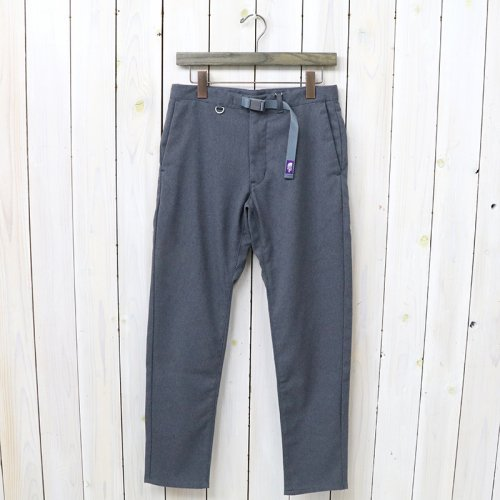 『Polyester Serge Field Pants』(Light Gray)