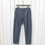 THE NORTH FACE PURPLE LABEL『Polyester Serge Field Pants』(Light Gray)