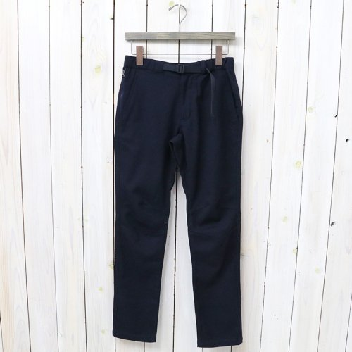 『Polyester Serge Trail Pants』(Navy)