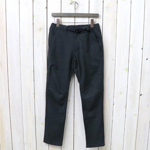 『Polyester Serge Trail Pants』(Charcoal)