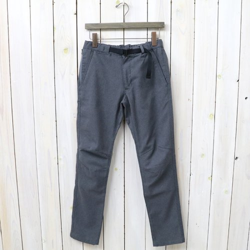 『Polyester Serge Trail Pants』(Light Gray)