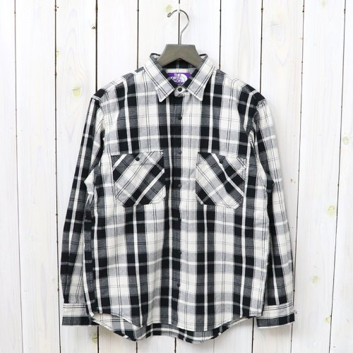 THE NORTH FACE PURPLE LABEL『Light Weight California Shirt』(Black)