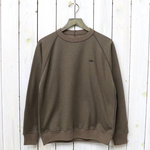 『Mountain Crew Neck Sweat』(Brown)