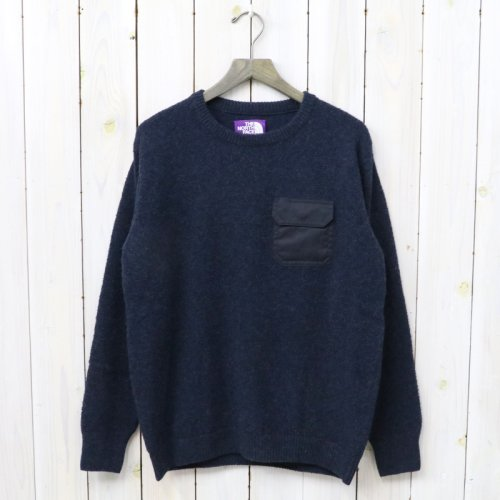 THE NORTH FACE PURPLE LABEL『Crew Neck Sweater』(Navy)