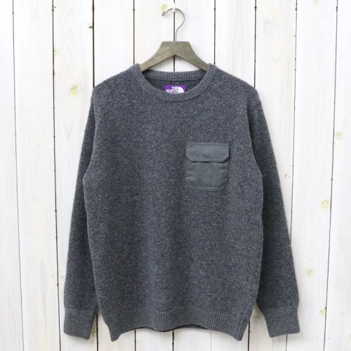 『Crew Neck Sweater』(Charcoal)