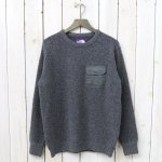 THE NORTH FACE PURPLE LABEL『Crew Neck Sweater』(Charcoal)