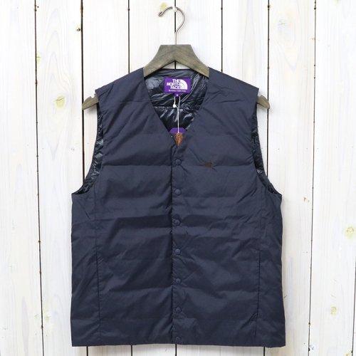 『Down Vest』(Navy)