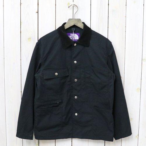 『Double Face Twill Field Jacket』(Black)
