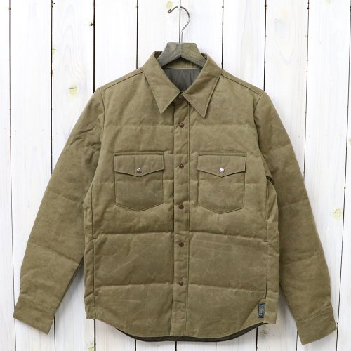 『Paraffin Down Shirts』(BROWN)