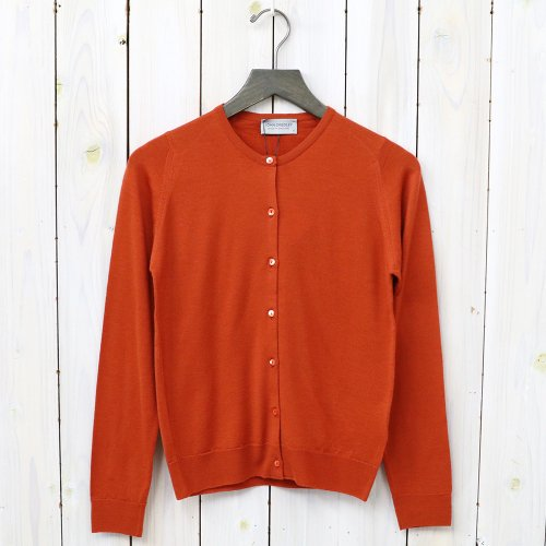 『FLORENCE-LS CN CARDIGAN』(FLARE ORANGE)