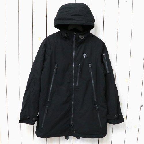 『Zipped Coat-Wax Coating』(Black)