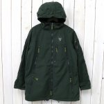 SOUTH2 WEST8『Zipped Coat-Wax Coating』(Green)