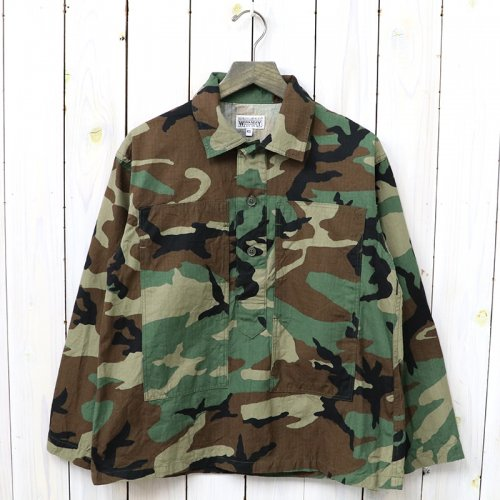 『Army Shirt-Ripstop』(Woodland Camo)
