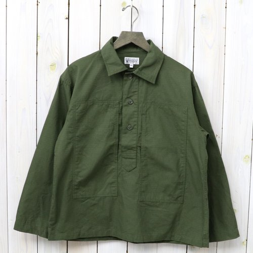 【会員様限定SALE】ENGINEERED GARMENTS WORKADAY『Army Shirt-Ripstop』(Olive)