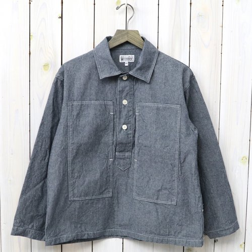 【会員様限定SALE】ENGINEERED GARMENTS WORKADAY『Army Shirt-Heavy Cotton Chambray』