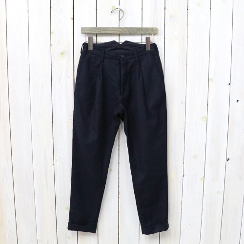『Willy Post Pant-Worsted Heavy Wool』(Dk.Navy)
