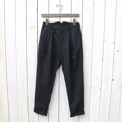 『Willy Post Pant-Worsted Heavy Wool』(Dk.Grey)
